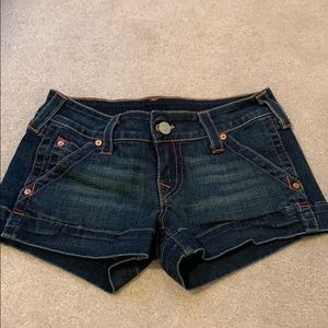 True Religion Emma Jean short, size 28